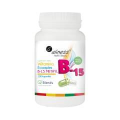 Witamina B Complex B-15 Methyl 100 kapsułek Aliness
