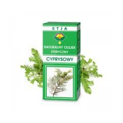 Olejek eteryczny cyprysowy naturalny 10 ml Etja