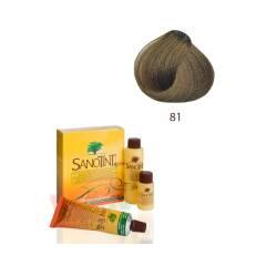 Farba do włosów Medium Natural Blond 81 Sensitive Sanotin