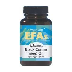 Olej z nasion czarnego kminu EFAs 60 kapsułek Swanson