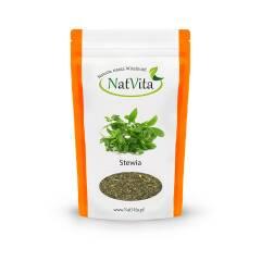 Stewia Liście pocięte 130 g Natvita