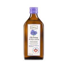 Olej lniany do diety dr Budwig 250 ml Ol'Vita