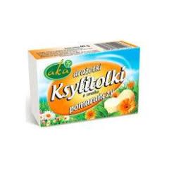 Ksylitolki drażetki pudrowe o smaku pomarańczy 40 g AKA