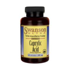 Kwas Kaprylowy 600 mg 60 kapsułek Swanson