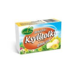 Ksylitolki drażetki pudrowe o smaku Pinacolada 40 g AKA