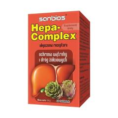 Hepa-Complex ochrona wątroby i dróg żółciowych 60 tabletek Sanbios